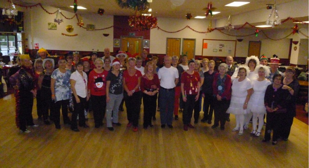 Line Dancing Party Christmas 2014