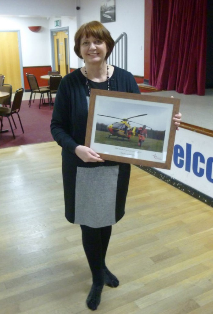 Janina Mossman With East Anglian Air Ambulance Picture
